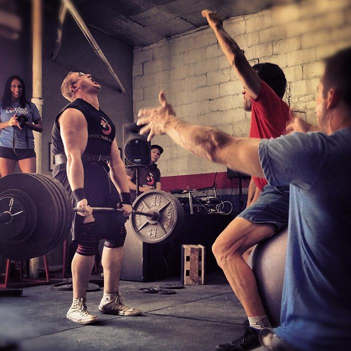hyde park gym push pull